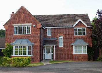 Thumbnail 5 bed detached house for sale in Stoneleigh Grove, Muxon, Telford, Shropshire.