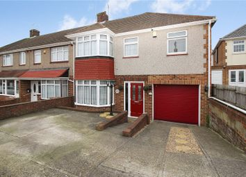 Thumbnail 5 bed end terrace house for sale in Bramley Rise, Rochester, Kent