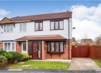 Thumbnail 3 bed semi-detached house for sale in Chedworth Road, Lincoln