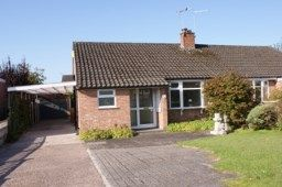 Thumbnail 2 bed semi-detached house for sale in Hind Heath Road, Wheelock, Sandbach, Cheshire