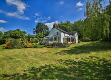 Thumbnail 4 bedroom detached house for sale in Llangattock, Crickhowell