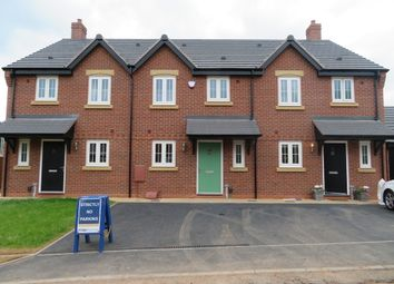 Thumbnail 3 bed town house to rent in Burton Road, Streethay, Lichfield
