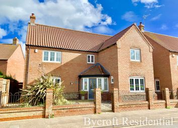 Thumbnail 5 bed detached house for sale in Waters Lane, Hemsby, Great Yarmouth