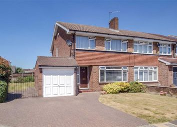 Thumbnail 3 bed semi-detached house for sale in Oak Grove, Sunbury-On-Thames