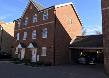 Thumbnail 3 bed town house for sale in Clifford Crescent, Sittingbourne