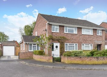 Thumbnail 3 bed semi-detached house for sale in Trent Crescent, Thatcham