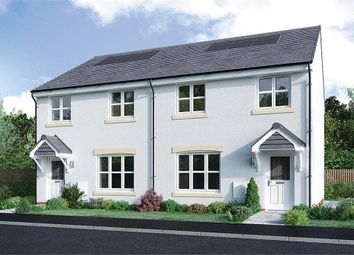 "Thumbnail 3 bedroom mews house for sale in ""Meldrum Mid"" at Queen Mary Avenue, Clydebank"
