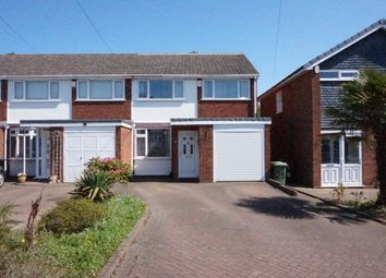 Thumbnail 3 bed semi-detached house for sale in Nicholas Road, Streetly, Sutton Coldfield