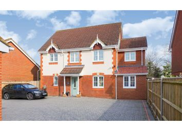Thumbnail 5 bed detached house for sale in Hawkers Close, Southampton