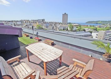 Thumbnail 3 bed flat for sale in Ocean Crescent, The Crescent, Plymouth