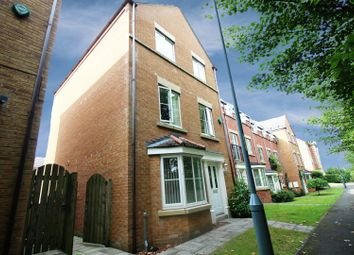Thumbnail 4 bed town house for sale in Cong Burn View, Chester Le Street, Durham