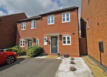 Thumbnail 2 bed semi-detached house for sale in Lynemouth Court, Arnold, Nottingham