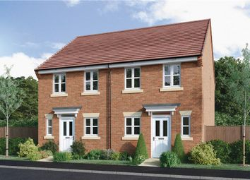 "Thumbnail 2 bed semi-detached house for sale in ""Beckford"" at Halam Road, Southwell"