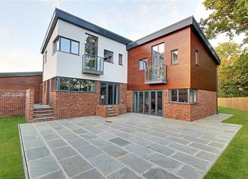 Thumbnail 4 bed detached house for sale in Holly Bush Lane, Bushey