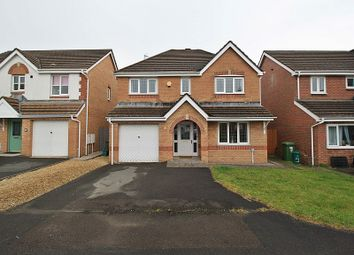 Thumbnail 4 bed detached house for sale in Bluebell Drive, Llanharan, Pontyclun, Rhondda, Cynon, Taff.