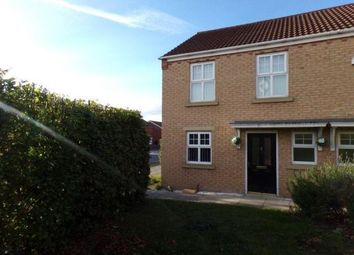 Thumbnail 2 bed semi-detached house to rent in Carlton Moor Crescent, Darlington