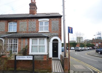 Thumbnail 2 bed end terrace house to rent in Swansea Road, Reading