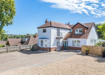 Thumbnail 4 bed detached house for sale in Tongdean Lane, Withdean, Brighton