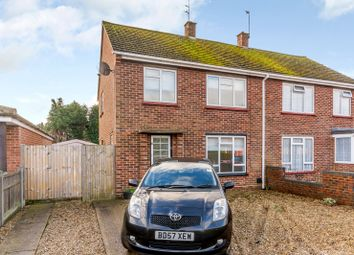 Thumbnail 3 bed semi-detached house to rent in Bowling Green Road, Chobham, Woking