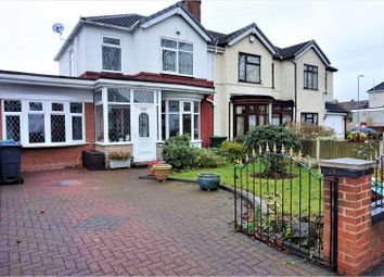Thumbnail 4 bed semi-detached house for sale in Hollyhedge Road, West Bromwich