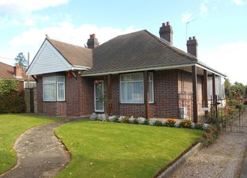 Thumbnail 3 bed detached bungalow for sale in Manor Court, Manor Road, Mile Oak, Tamworth