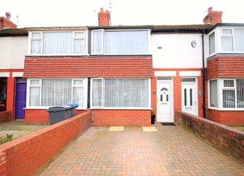 Thumbnail 2 bedroom terraced house for sale in Willowbank Avenue, Blackpool, Lancashire