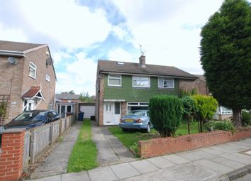 Thumbnail 3 bed semi-detached house for sale in Cheswick Drive, Gosforth, Newcastle Upon Tyne