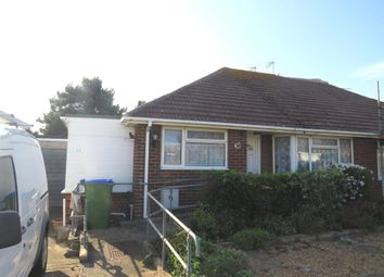 Thumbnail 2 bed semi-detached bungalow for sale in Bramber Avenue, Peacehaven