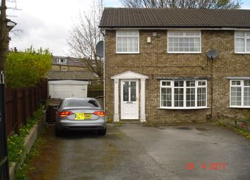 Thumbnail 3 bed semi-detached house to rent in Beldon Park Avenue, Bradford
