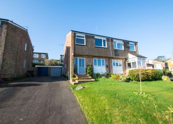 Thumbnail 3 bed semi-detached house for sale in Rochester Way, Crowborough
