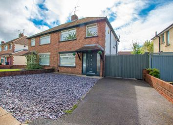 Thumbnail 3 bed semi-detached house for sale in Clovelly Crescent, Cardiff