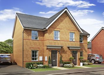 "Thumbnail 3 bedroom semi-detached house for sale in ""Palmerston"" at Lancaster Avenue, Watton, Thetford"
