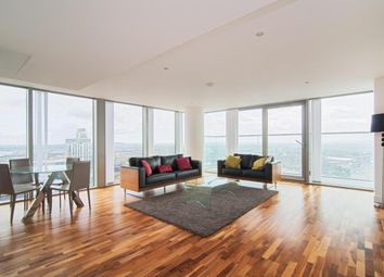 Thumbnail 3 bed flat to rent in Landmark Tower East, 24 Marsh Wall, London