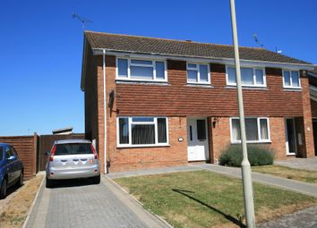 Thumbnail 3 bed semi-detached house to rent in Bensted, Ashford, Kent