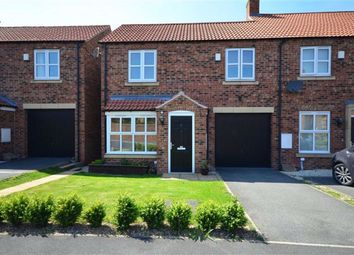 Thumbnail 3 bedroom semi-detached house for sale in Station Rise, Riccall, York