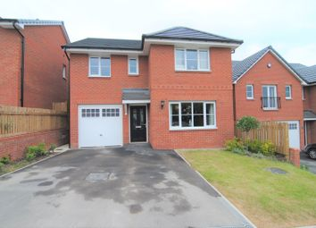 Thumbnail 4 bed detached house for sale in Hornby Close, Chorley