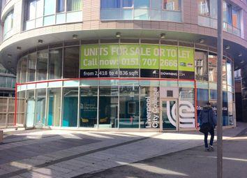 Thumbnail Retail premises for sale in Ground Floor At Eden Square, Hatton Garden, Liverpool