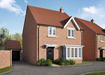 "Thumbnail 4 bed detached house for sale in ""The Hidcote"" at Lincoln Road, Navenby, Lincoln"