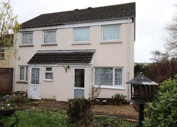 Thumbnail 2 bed semi-detached house for sale in Woolbarn Lawn, Barnstaple