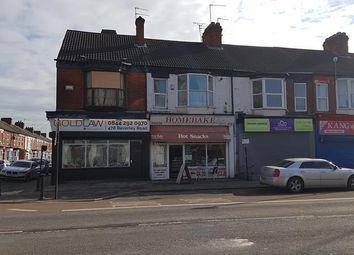 Thumbnail Retail premises for sale in 476 Beverley Road, Hull