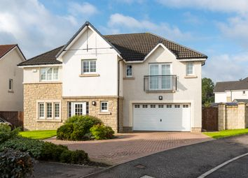 Thumbnail 5 bed detached house for sale in Woodcroft Drive, Lenzie, Glasgow
