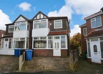 Thumbnail 3 bed semi-detached house to rent in Brendon Avenue, Stockport