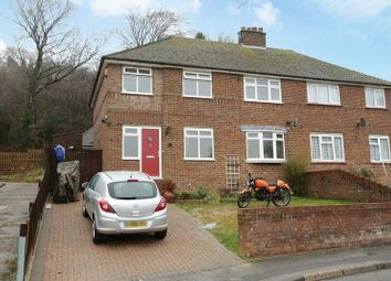 Thumbnail 5 bed semi-detached house for sale in Templeside, Temple Ewell, Dover