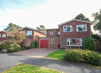 Thumbnail 4 bed detached house for sale in Barbara Close, Church Crookham, Fleet