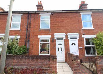 Thumbnail 2 bedroom terraced house for sale in Rosebery Road, Ipswich