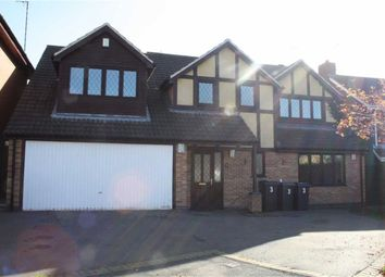 Thumbnail 5 bed detached house for sale in Warrington Drive, Groby, Leicester