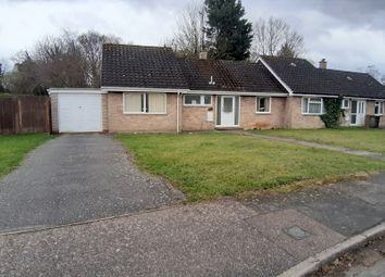 Thumbnail 2 bed semi-detached bungalow for sale in Richer Close, Badwell Ash, Bury St. Edmunds