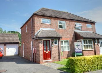 Thumbnail 3 bed semi-detached house for sale in Bristol Way, Sleaford