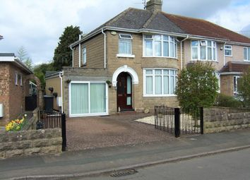 Thumbnail 3 bed semi-detached house for sale in Merton Avenue, Swindon