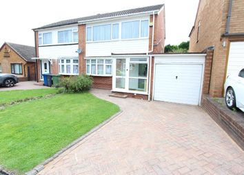 Thumbnail 3 bed semi-detached house for sale in Allard, Tamworth